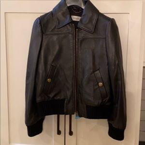 Coach fall 2020 Leather Tailored Bomber Jacket